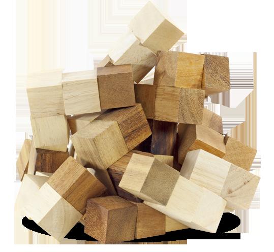 Kombination der Massivholzmöbel