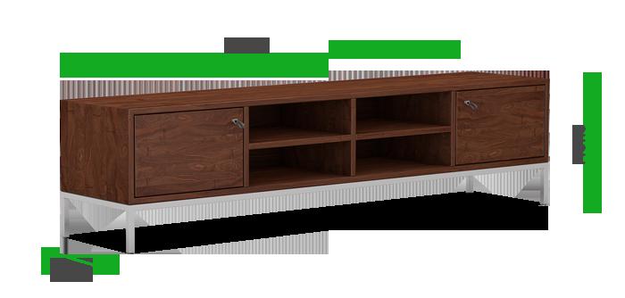 Massivholzsideboard Maße