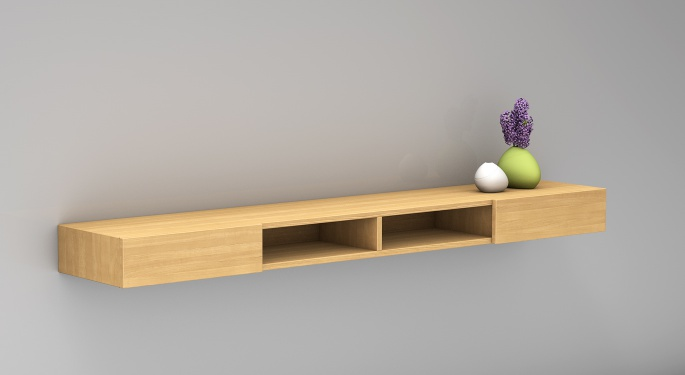 Massivholz Sideboard Lidia