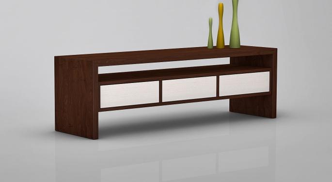 Massivholz Sideboard Kesia