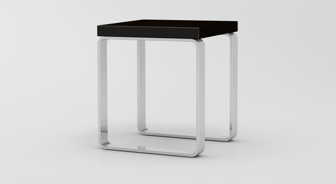Massivholz Hocker Jule