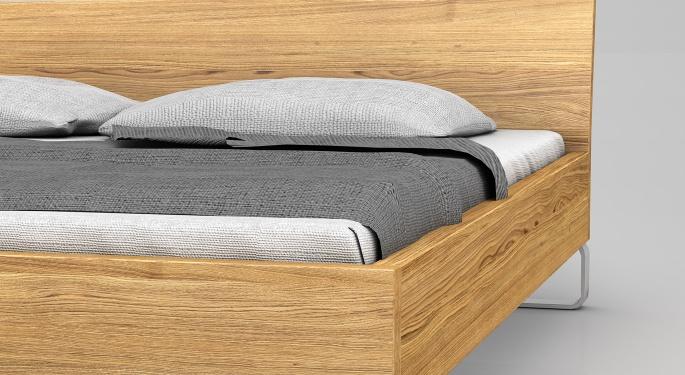 8be722a126 Massivholz Bett Elin. Ein Bett auf Kufen: Dieser ungewöhnliche Einfall  bestimmt die Gestalt dieses Möbelstücks.